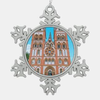 Limburg-Kathedrale Schneeflocken Zinn-Ornament
