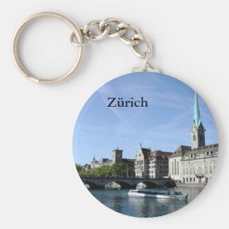 Limmat-Fluss in Zürich Schlüsselanhänger