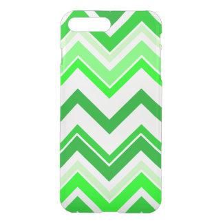 Limones grünes Zickzack Muster iPhone 8 Plus/7 Plus Hülle