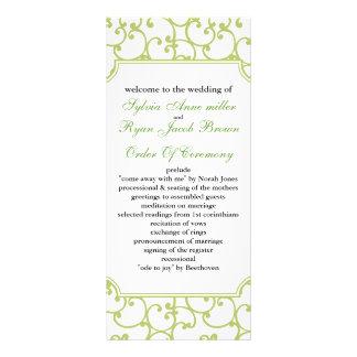 Limones Hochzeitsprogramm Werbekarten
