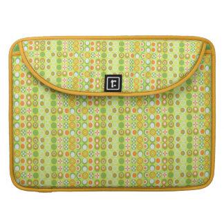 Limones Kreis-Muster Macbook Prohülse Sleeve Für MacBook Pro