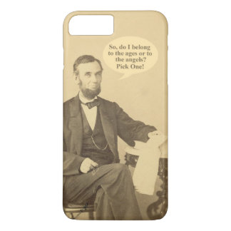 Lincoln-Alter oder Engels-historisches Zitat iPhone 8 Plus/7 Plus Hülle