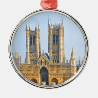 Lincoln-Kathedrale Silbernes Ornament
