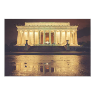 Lincoln Memorial Fotodruck
