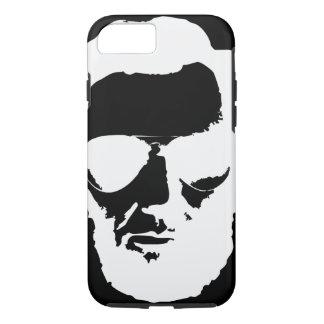 Lincoln mit Flieger-Sonnenbrille - Weiß iPhone 8/7 Hülle