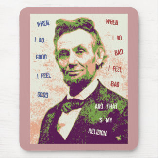 Lincoln-Religion Mousepads