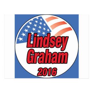 Lindsey Graham für Präsidenten im Jahre 2016 Postkarte