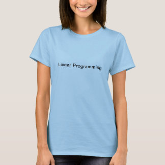 Lineare Programmierung T-Shirt