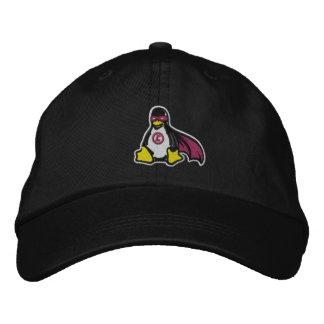 Linux-Rächer-Pinguin-Hut Bestickte Baseballkappe