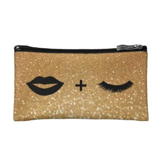 Lippen + Peitschen grafisch Kosmetiktasche