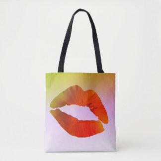 Lippengewohnheit ganz vorbei - drucken Sie