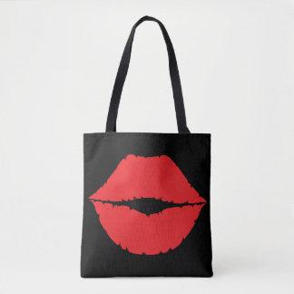 Lippenrote Kuss-Lippengrafisches Kuss-Kennzeichen