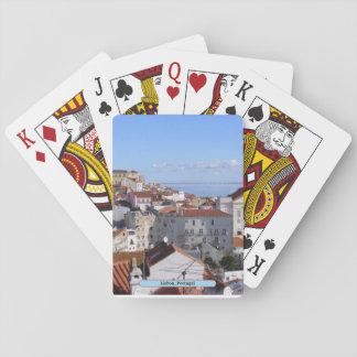 Lissabon, Portugal Spielkarten