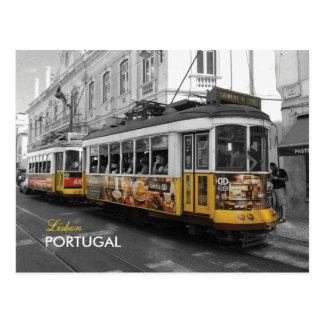Lissabon-Tram 28% pipe% Eletrico 28 Lissabon Postkarten