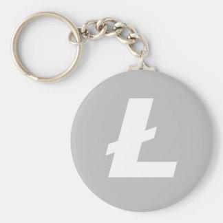Litecoin LTC grundlegendes Keychain Schlüsselanhänger