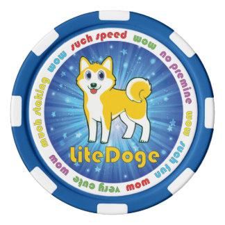 LiteDoge Zeichen Poker Chips Set