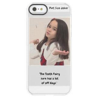 Liter-Größen-Joker: Zahn-Fee und weg von den Tagen Permafrost® iPhone SE/5/5s Hülle