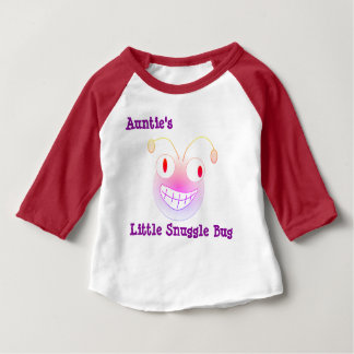 Little Snuggle Bug Tante Baby T-shirt