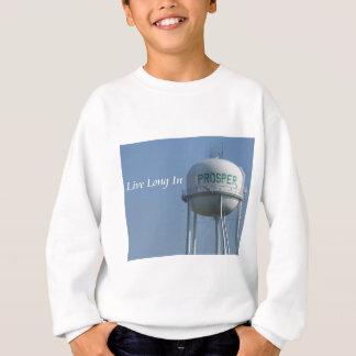 Live lang in erweitern sich das Sweatshirt des
