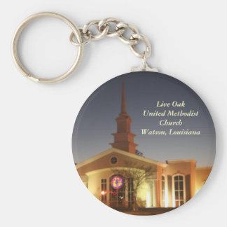 Live Oak-Evangelisch-methodistische Kirche Schlüsselanhänger
