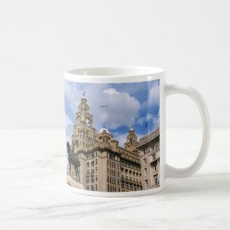 Liverpool - Leber-Gebäude Tasse