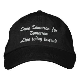 LiveToday_ gesticktes Hat_by Elenne Baseballmütze