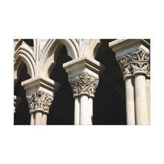 Lleida-Kathedrale (Detail) Leinwanddruck