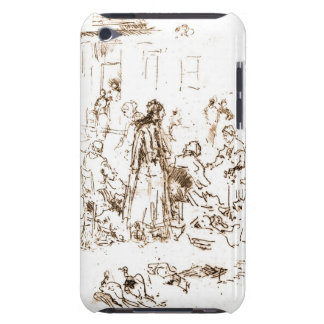 Loches Markt-Frauen 1880 Barely There iPod Case