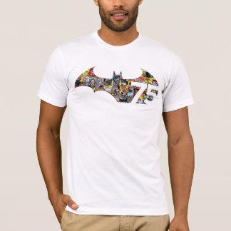 Logo des Batman-75 - Comic-Abdeckungen T-Shirt