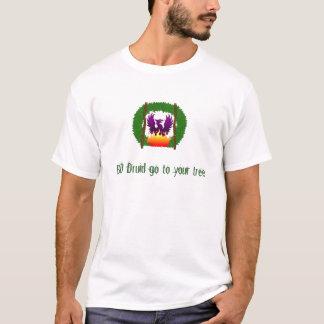 Logo, SCHLECHTER Druide gehen zu Ihrem Baum T-Shirt