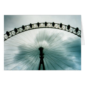 London-Augen-Jahrtausend-Rad, England Karte