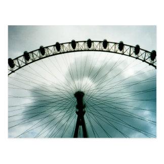 London-Augen-Jahrtausend-Rad, England Postkarte