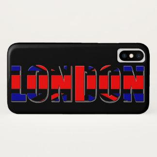 London iPhone X Hülle