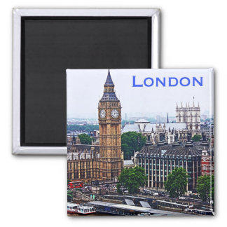 London-Magnet Quadratischer Magnet