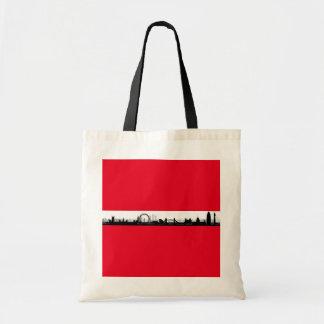 Londonskyline-Taschen-Tasche Tragetasche