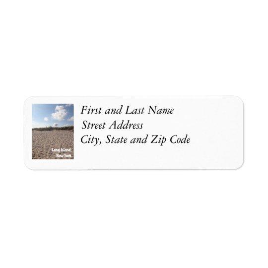 Long Island-Adressen-Etikett Kleiner Adressaufkleber