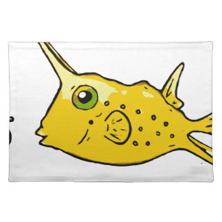 LonghornCowfish Stofftischset