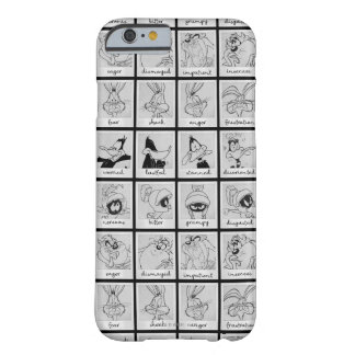 LOONEY TUNES™ Charakter-Gefühl-Diagramm Barely There iPhone 6 Hülle