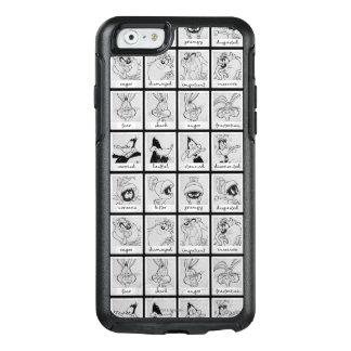 LOONEY TUNES™ Charakter-Gefühl-Diagramm OtterBox iPhone 6/6s Hülle