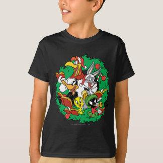 LOONEY TUNES™ Gruppen-WeihnachtsKranz T-Shirt