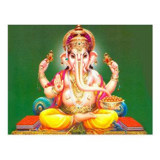 Lord Ganesha Postcard Postkarte