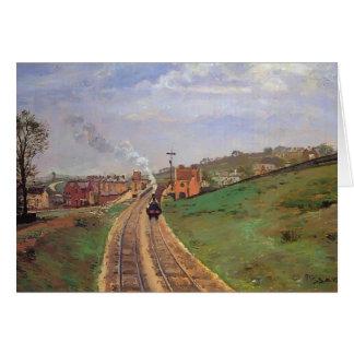 Lordschafts-Weg-Station Camilles Pissarro-, Karte