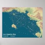 "Los Angeles Bay--24""x18"" Print"