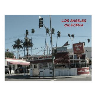 Los Angeles-Burger-Postkarte! Postkarten