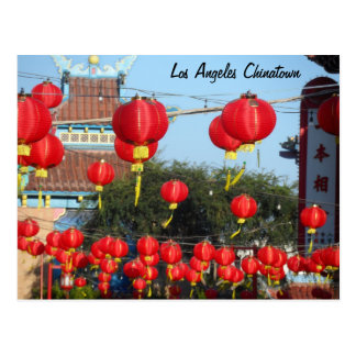 Los Angeles Chinatown Postkarte