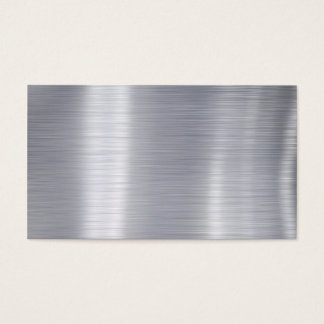 aluminium visitenkarten. Black Bedroom Furniture Sets. Home Design Ideas