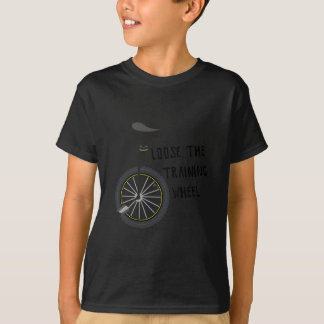 Lösen Sie das Trainings-Rad T-Shirt
