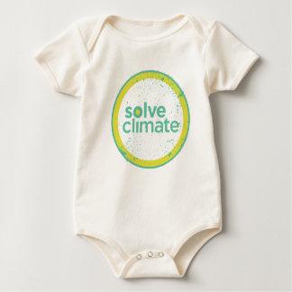 Lösen Sie den Bio Klima-Säugling Baby Strampler