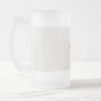 lösen Sie Ihren Tag Mattglas Bierglas
