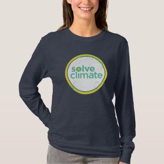 Lösen Sie Klima-lange Hülse T-Shirt
